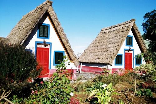 Houses of Madeira island