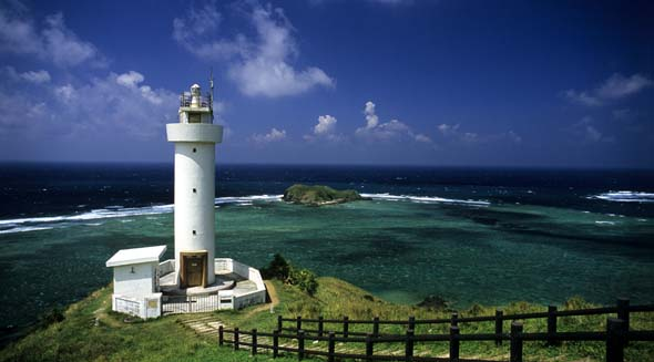 Isigaki Island Hirakubosaki lighthouse