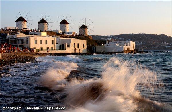 Миконос: Радужный остров ветряных мельниц