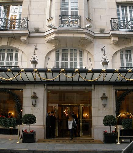 Hotel Le Bristol в Париже