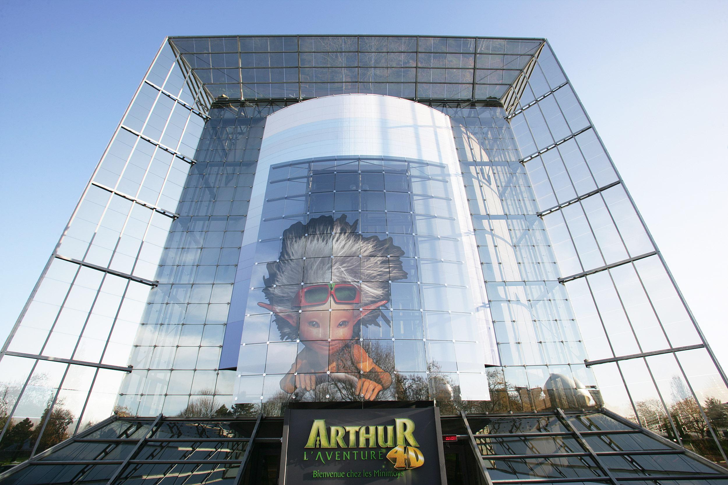 attraction arthur ext Лучшие места отдыха для детей во Франции