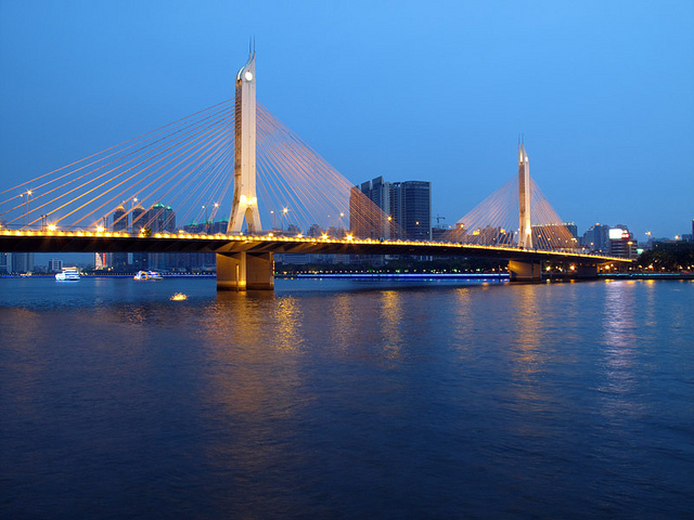Haiyin Bridge, Pearl River, Guangzhou
