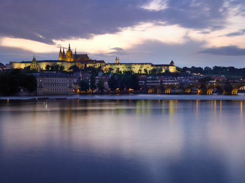 View of Mala Strana and Prague Castle