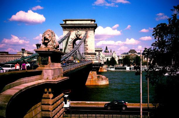 Мост в Будапеште имени Иштвана Сечени