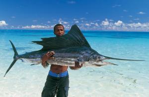 рыбалка на Сейшелах