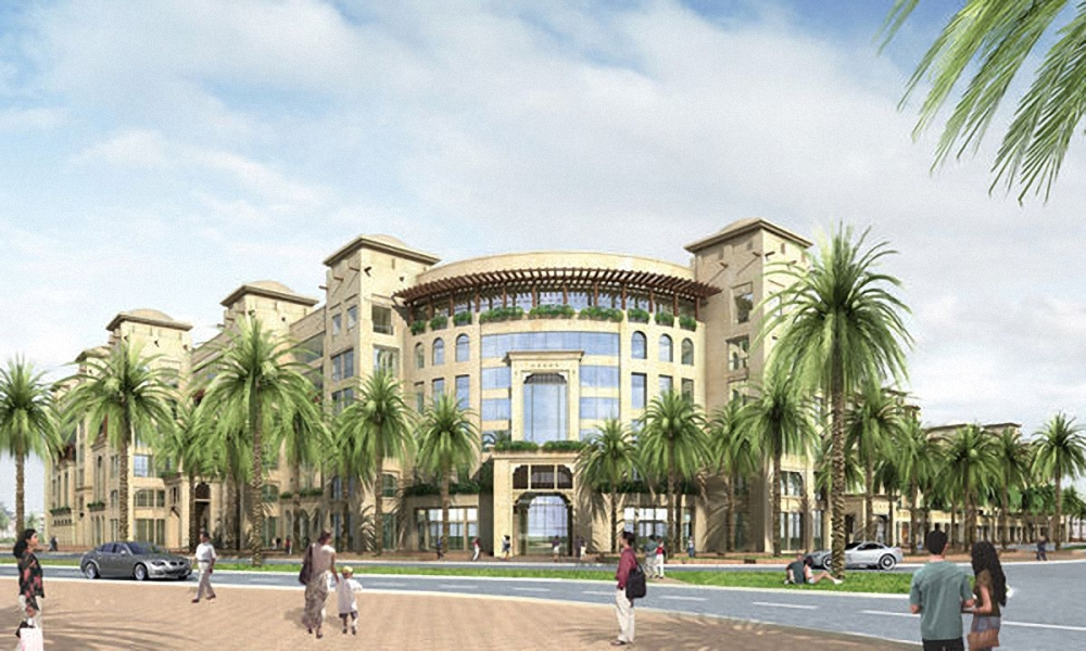 Новый отель в Дубаи