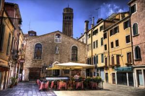 Кафе и рестораны Венеции