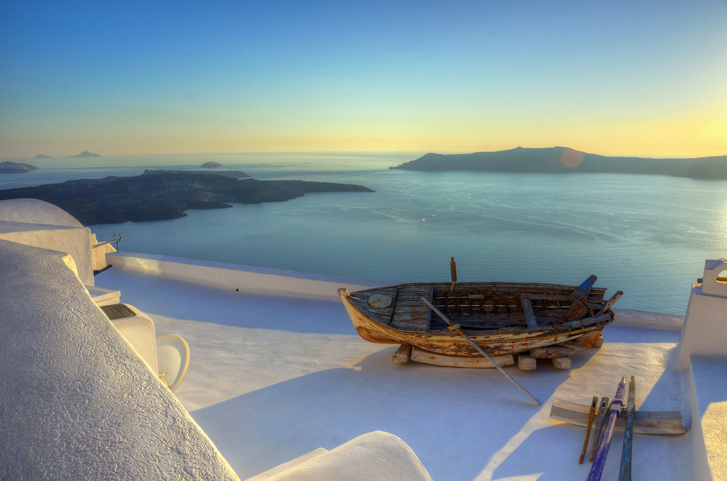 Santorini Лучшие романтические острова