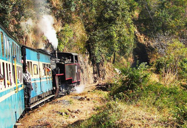 путешествие на поезде по Индии