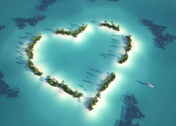 Лучшие романтические острова