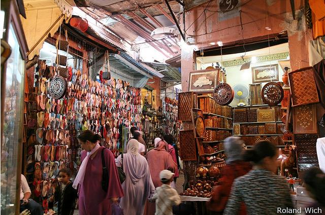 шопинг в Марракеше