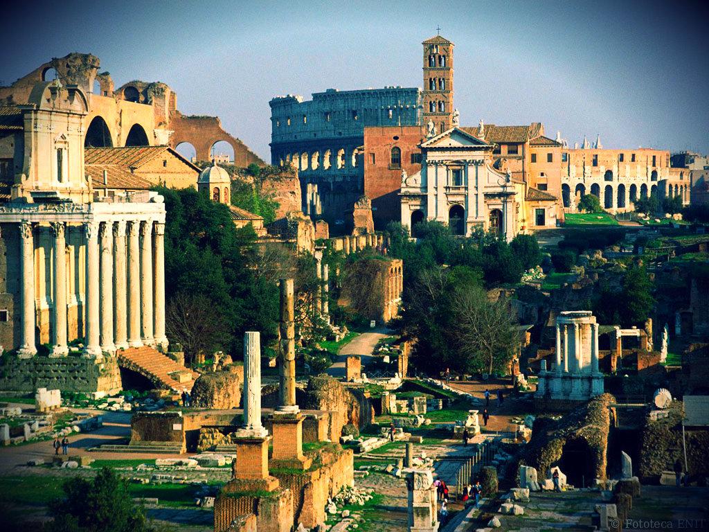 Италия: Отдых с детьми в Риме