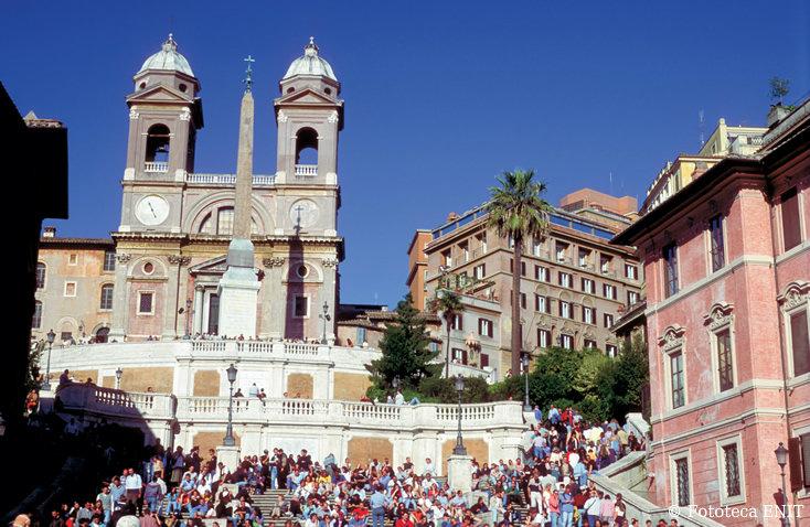 Steps of Trinità dei Monti