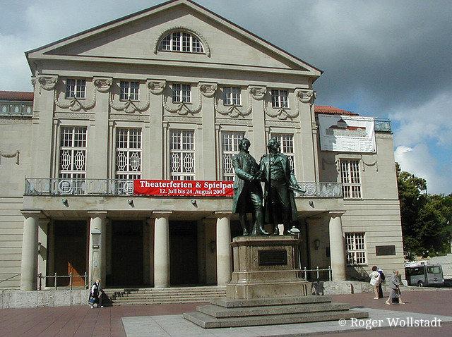 театра в веймаре