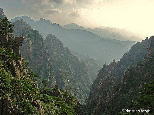 Китай_желтые горы