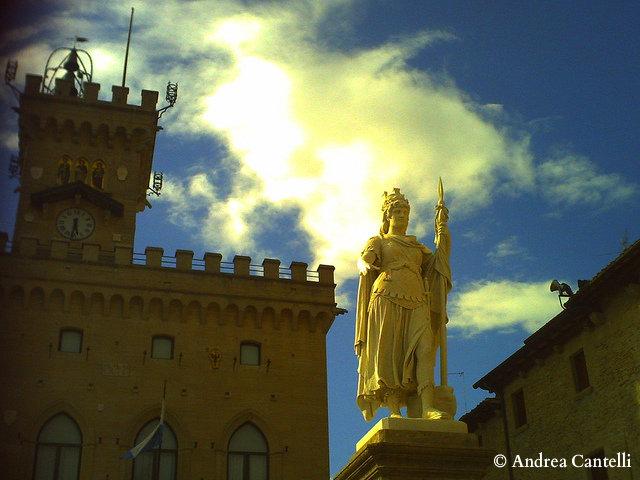 статуя свободы санмарино