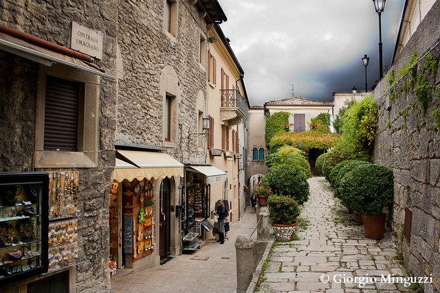 улочки Сан Марино