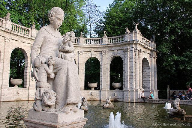 Берлин_фонтан