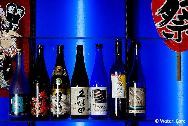 саке_бутылки