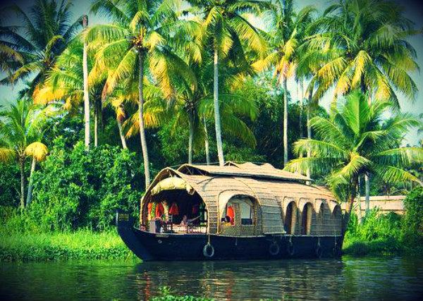 Керала_houseboat