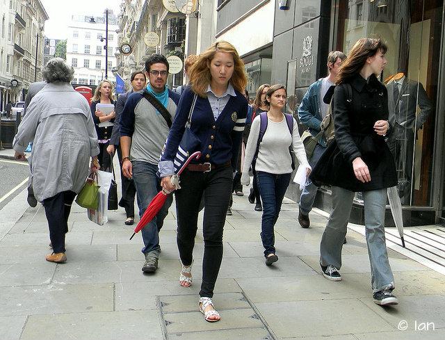 лондон пешком