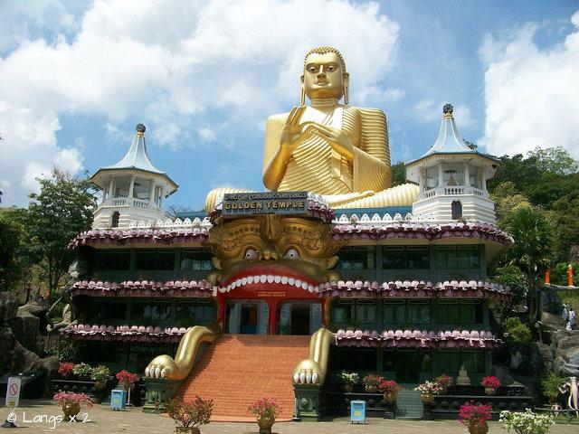 шри_Dambulla Cave Temples