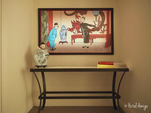 Hotel Amigo-Tintin