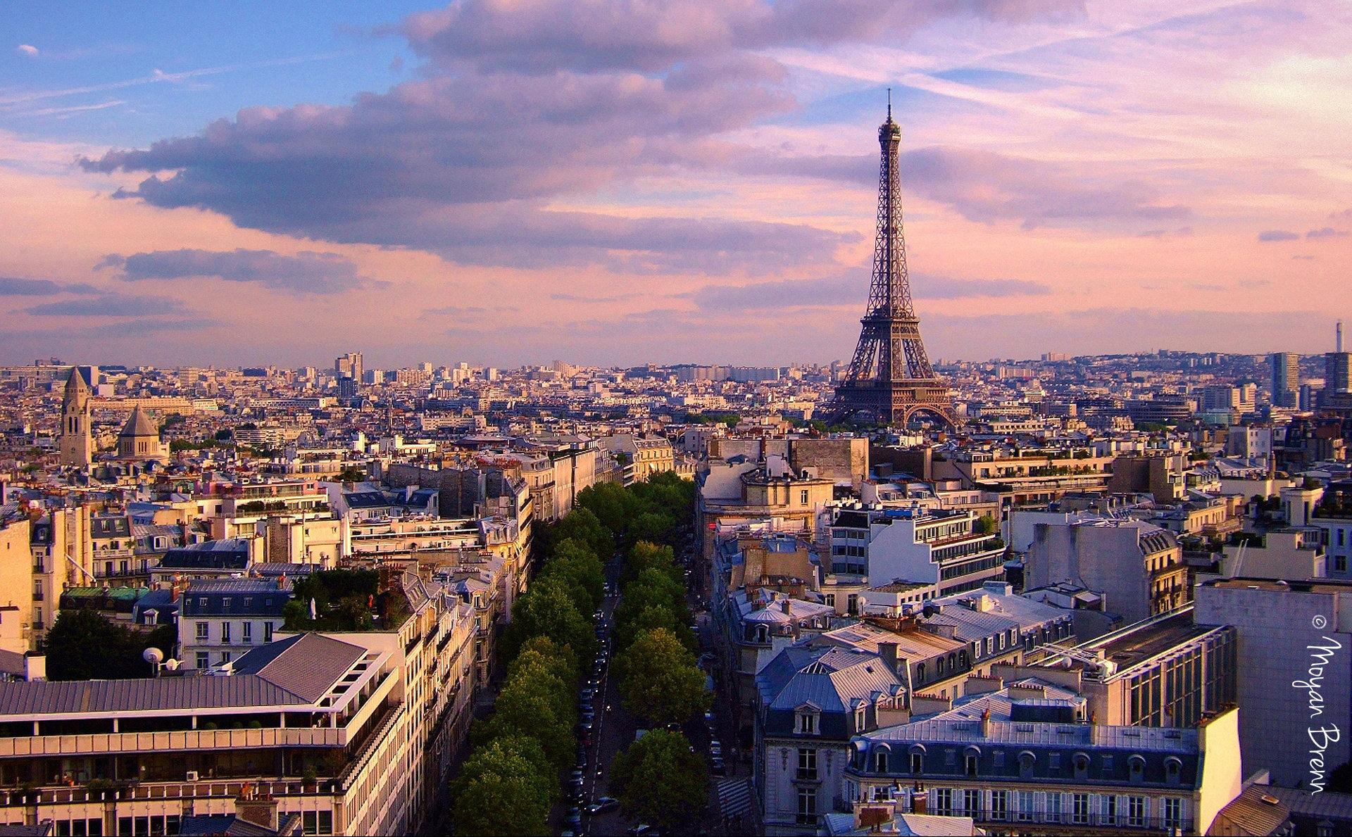 Франция: Бюджетная романтика Парижа