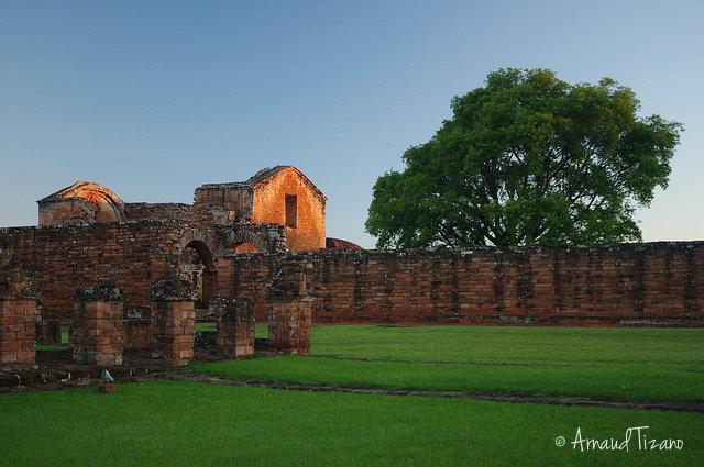 Руины парагвай