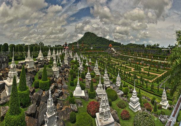 ботанический сад мадам Нонг Нуч