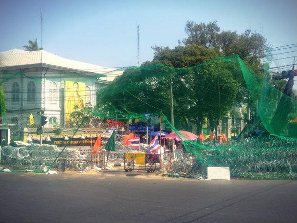 Беспорядки в Тайланде 2014