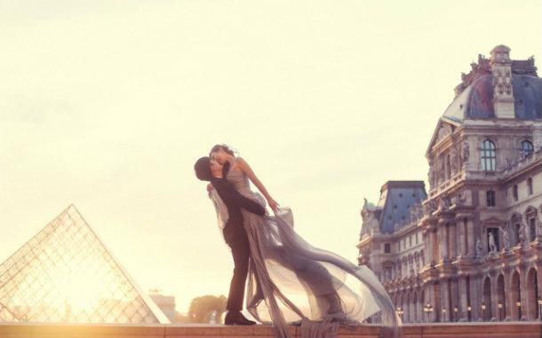 День святого Валентина в Париже